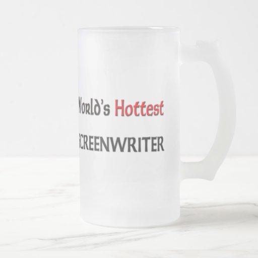 Worlds Hottest Screenwriter Mugs