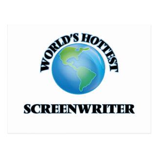 World's Hottest Screenwriter Postcards