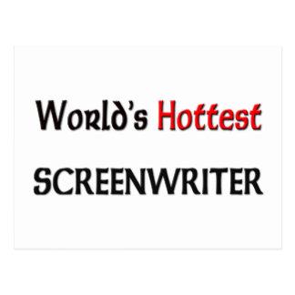 Worlds Hottest Screenwriter Postcard