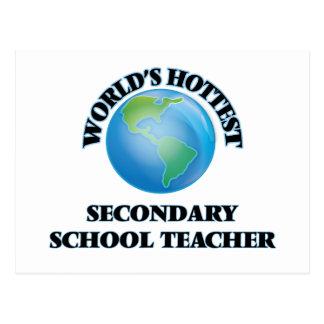 World's Hottest Secondary School Teacher Postcards