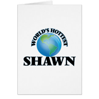 World's Hottest Shawn Cards