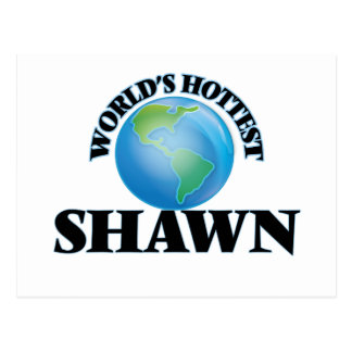 World's Hottest Shawn Post Cards