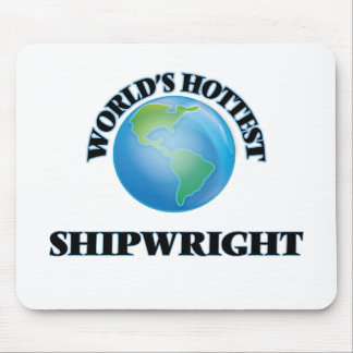 World's Hottest Shipwright Mouse Pad