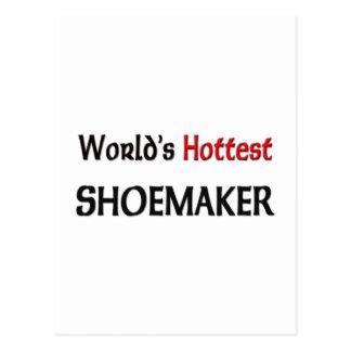 Worlds Hottest Shoemaker Postcard