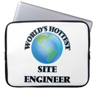 World's Hottest Site Engineer Laptop Computer Sleeve