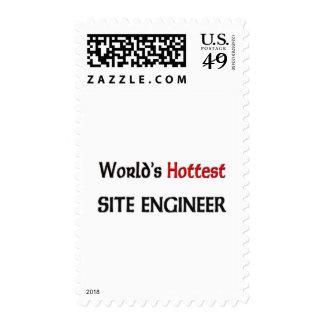Worlds Hottest Site Engineer Stamp