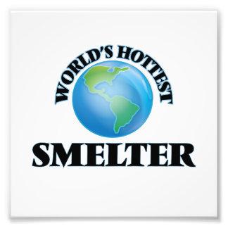 World's Hottest Smelter Photo Print