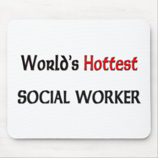Worlds Hottest Social Worker Mouse Pad