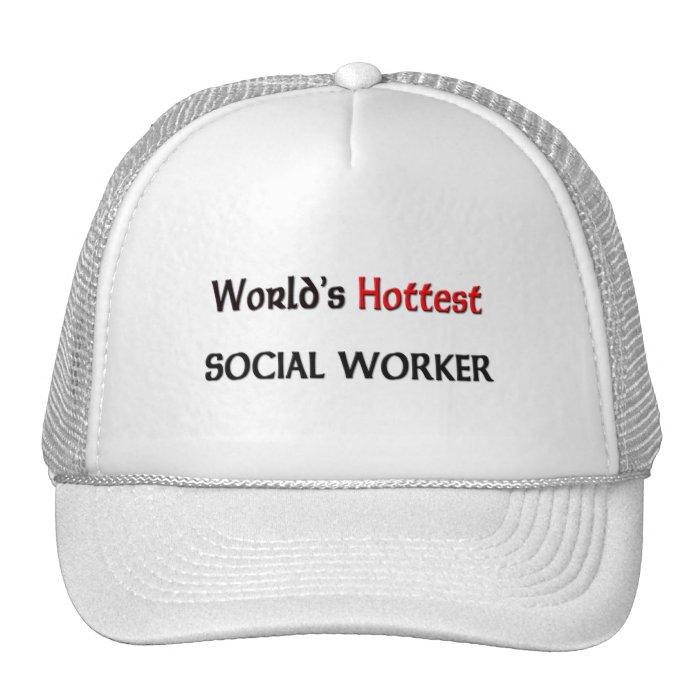 Worlds Hottest Social Worker Trucker Hat
