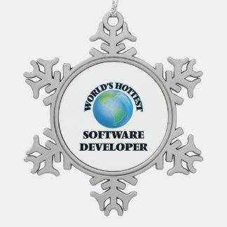 World's Hottest Software Developer Ornament