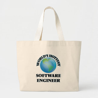 World's Hottest Software Engineer Tote Bag
