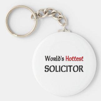 Worlds Hottest Solicitor Keychain