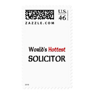 Worlds Hottest Solicitor Postage Stamps