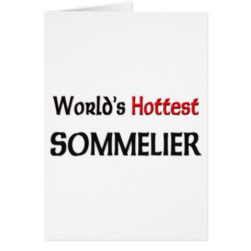 Worlds Hottest Sommelier Cards