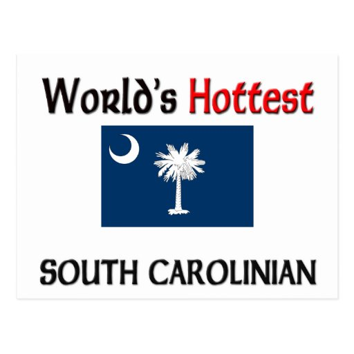 World's Hottest South Carolinian Post Cards
