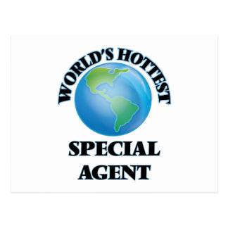 World's Hottest Special Agent Post Cards