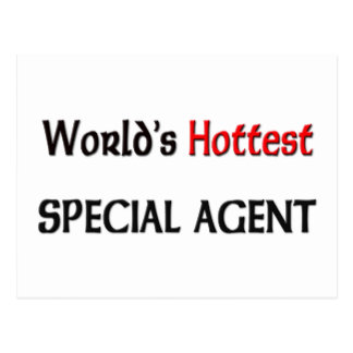 Worlds Hottest Special Agent Post Cards