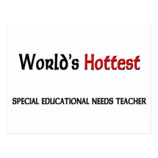 Worlds Hottest Special Educational Needs Teacher Postcards