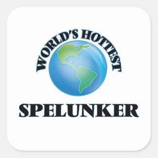 World's Hottest Spelunker Stickers