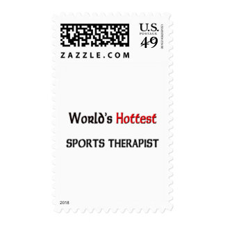Worlds Hottest Sports Therapist Postage Stamps
