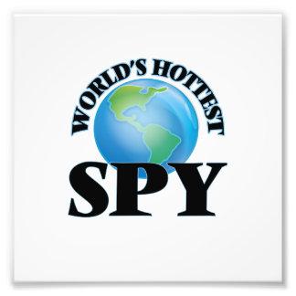World's Hottest Spy Photo Print