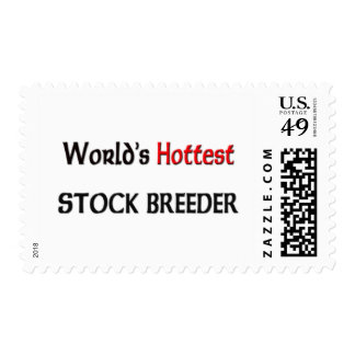 Worlds Hottest Stock Breeder Postage Stamps