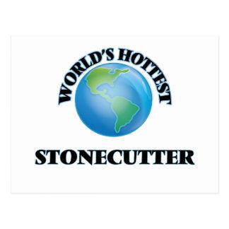 World's Hottest Stonecutter Postcard