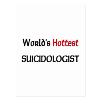 Worlds Hottest Suicidologist Post Cards