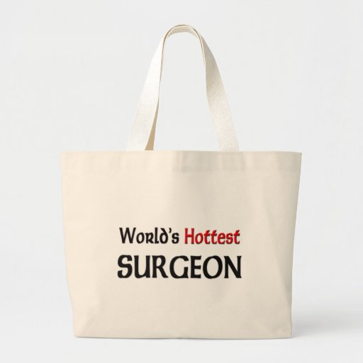Worlds Hottest Surgeon Tote Bags