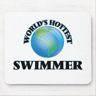 World's Hottest Swimmer Mousepads