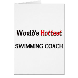 Worlds Hottest Swimming Coach Cards