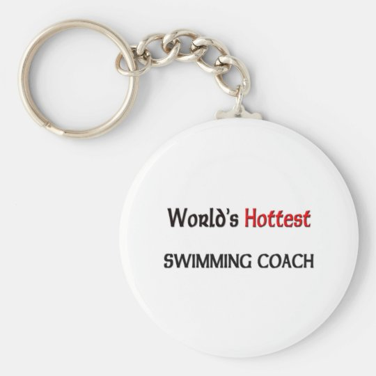 Worlds Hottest Swimming Coach Keychain