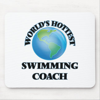 World's Hottest Swimming Coach Mouse Pads