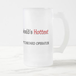 Worlds Hottest Switchboard Operator Coffee Mug