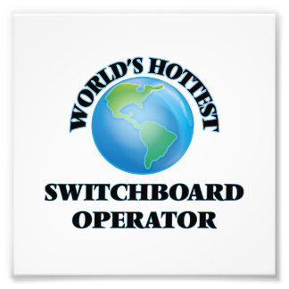 World's Hottest Switchboard Operator Photo Art