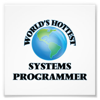 World's Hottest Systems Programmer Art Photo