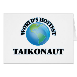 World's Hottest Taikonaut Cards