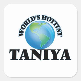 World's Hottest Taniya Sticker