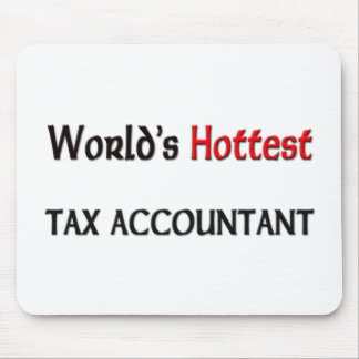World's Hottest Tax Accountant Mouse Pads