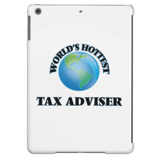 World's Hottest Tax Adviser iPad Air Covers