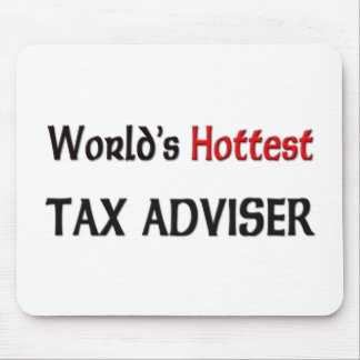 World's Hottest Tax Adviser Mouse Pad