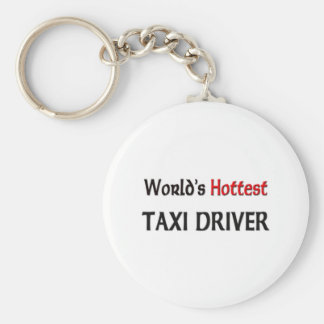 World's Hottest Taxi Driver Keychain