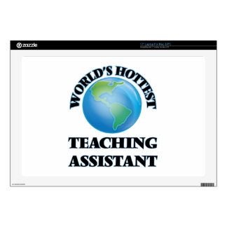 """World's Hottest Teaching Assistant 17"""" Laptop Skins"""