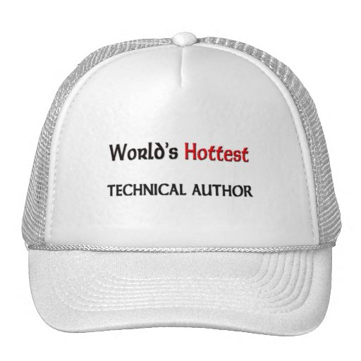World's Hottest Technical Author Mesh Hats