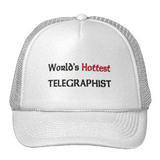 World's Hottest Telegraphist Mesh Hats