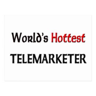 World's Hottest Telemarketer Postcard