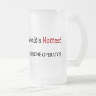 World's Hottest Telephone Operator Coffee Mug