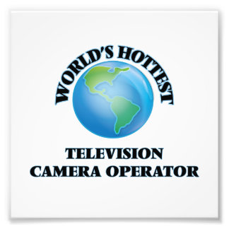 World's Hottest Television Camera Operator Art Photo