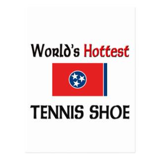 World's Hottest Tennis Shoe Postcard