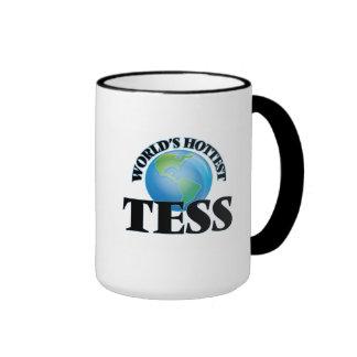World's Hottest Tess Ringer Coffee Mug
